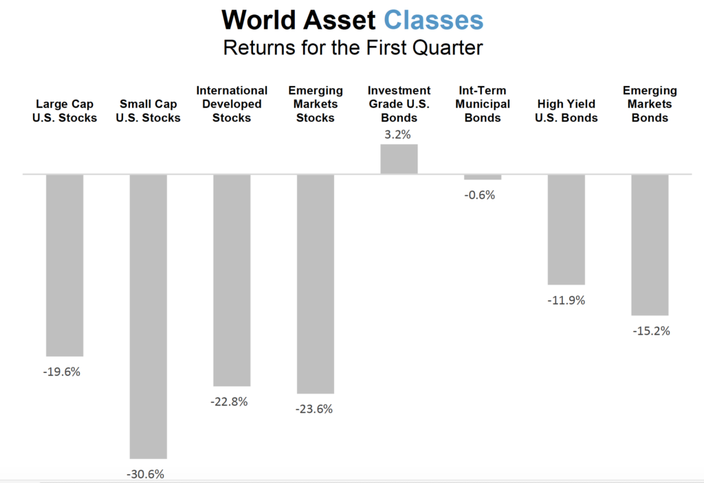 World Asset Classes Q1 2020