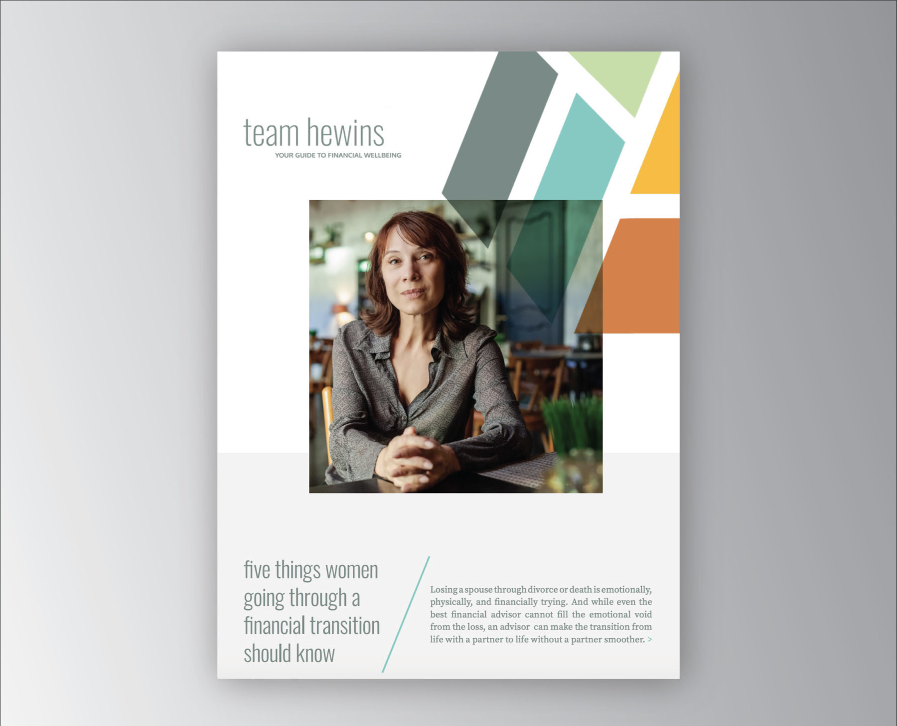 Women in Transition - Team Hewins eBook